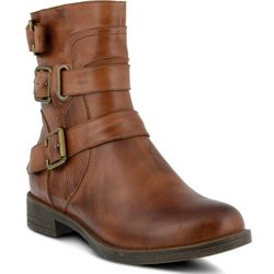 Spring Step Womens Diony Mid Calf Boots