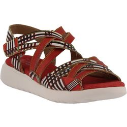 Spring Step Womens L'Artiste Tartina Sandals