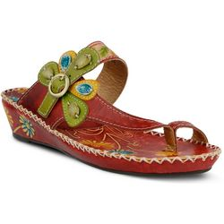 Spring Step Womens Santorini Toe-Ring Sandals