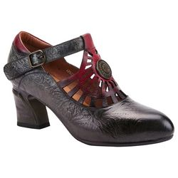 Spring Step Womens AprilLeive T-Strap Heels