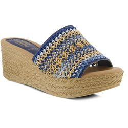 Spring Step Womens Calci Wedge Sandals
