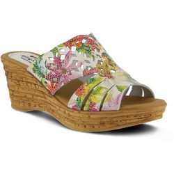 Spring Step Womens Viniko Wedge Sandals