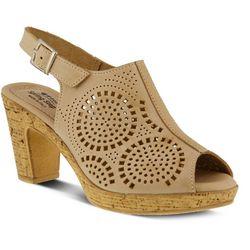 Spring Step Womens Liberty Peep Toe Sandal