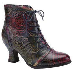 Spring Step Womens Concert Ankle Boots
