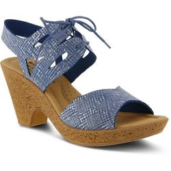 Spring Step Womens Gerberas Heeled Sandals
