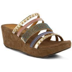 Spring Step Womens Azura Oletha Wedges Sandals
