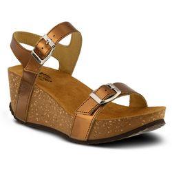 Spring Step Womens Shiri Wedge Sandals