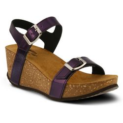 Spring Step Womens Shiri Wedge Sandals