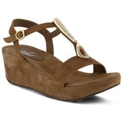Spring Step Womens Azura Lawna Wedge Sandals
