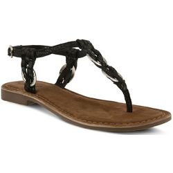Spring Step Womens Azura Cerelia Thong Sandals