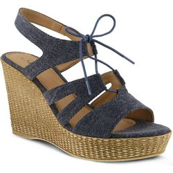 Spring Step Womens Azura Kaba Wedge Sandals