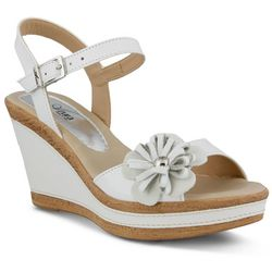 Spring Step Womens Azura Casola Wedge Sandal