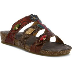 Spring Step Womens L'Artiste Aghna Slide Sandals