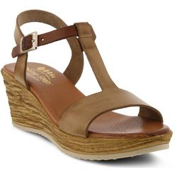 Spring Step Womens Jamari T-Strap Sandals