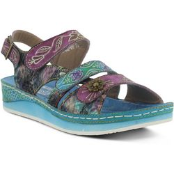 Spring Step Womens L'Artiste Sumacah Wedge Sandals