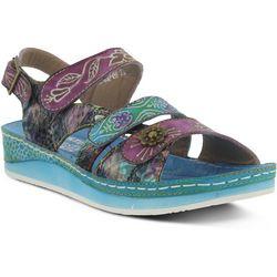 Spring Step Womens L'Artiste Sumacah Wedge Sandals