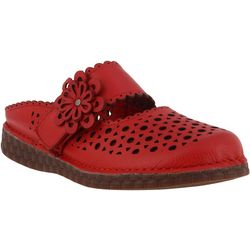 Spring Step L'Artiste Womens Smoosh Mules