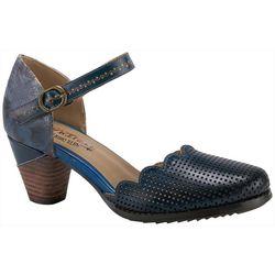 Spring Step Womens L'Artiste Parchelle Mary Jane Heels