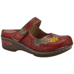 Spring Step Womens L'Artiste Sylviria Mary Jane Mules