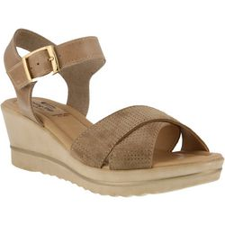 Spring Step Womens Rochelle Wedge Sandals