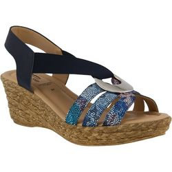 Spring Step Womens Misi Wedge Sandals