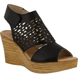 Spring Step Womens Rokshana Wedge Sandals
