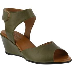 Spring Step Womens Marjory Wedge Sandals