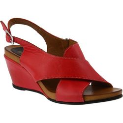 Spring Step Womens Caronise Wedge Sandals