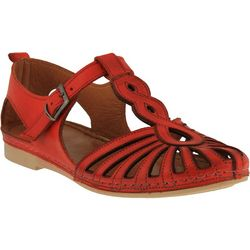 Spring Step Womens Makeda T-Strap Mary Jane Flats