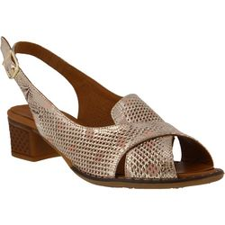 Spring Step Womens Akala Slingback Sandals
