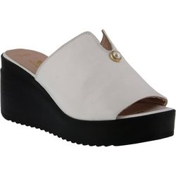 Spring Step Womens Noresa Wedge Slide Sandals