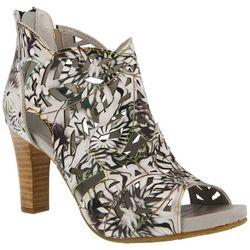 Spring Step Womens L'Artiste Amora Floral Heels
