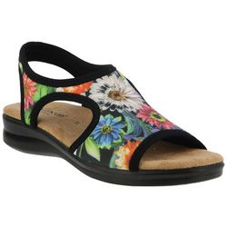 Spring Step Flexus Womens Nyaman Bouquet Sandals