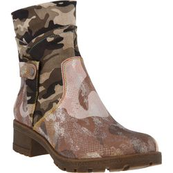 Spring Step Womens L'Artiste Cammo Boots