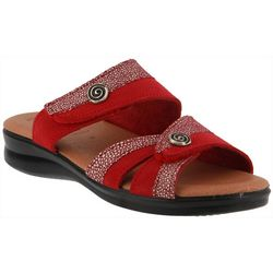 Spring Step Flexus Womens Quasida Slide Sandals