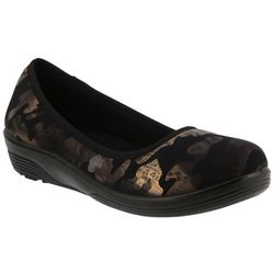 Spring Step Flexus Womens Lakeesha Camo Flats