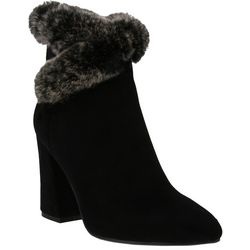 Spring Step Azura Womens Janesa Faux Fur Booties