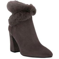 Spring Step Azura Womens Janesa Faux Fur Booties