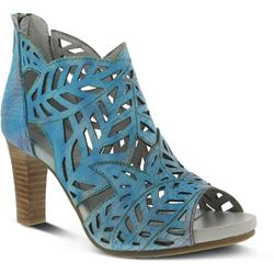 Spring Step Womens L'Artiste Amora Peep Toe Heels