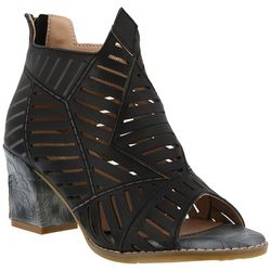 Spring Step Womens L'Artiste Angular Booties