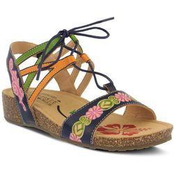 Spring Step Womens L'Artiste Loma Tie Sandals