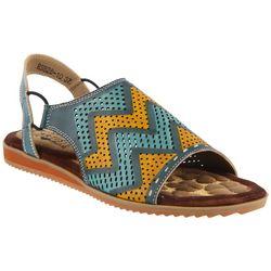 Spring Step Womens L'Artiste Lailah Chevron Sandal