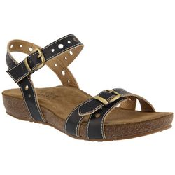 Spring Step Womens L'Artiste Technic Buckle Sandal