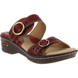 Spring Step Womens L'Artiste Duobank Slide Sandals