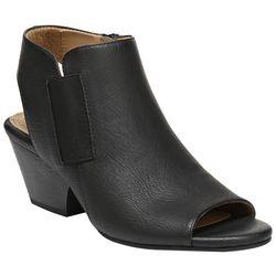 Natural Soul Womens Daph Peep Toe Sandals