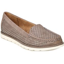 Natural Soul Womens Isla Moccasins