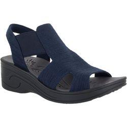 Easy Street Womens Boucy Comfort Sandals