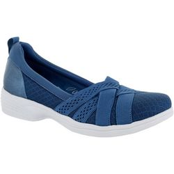 Easy Street Womens Sheer Slip On Shoes
