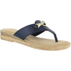 Easy Street Womens Farah Thong Sandals