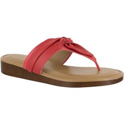 Easy Street Womens Maren Thong Sandals